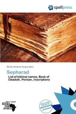 Sepharad (Paperback): Richie Krishna Fergus