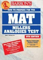 How to Prepare for the MAT (Paperback, 8th Revised edition): Robert J. Sternberg