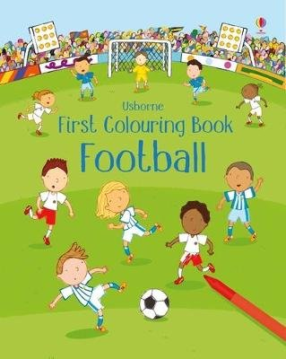 First Colouring Book Football (Paperback, New Edition): Sam Taplin