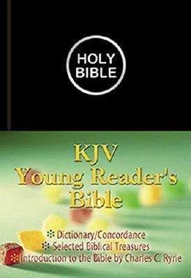 Young Reader's Bible-KJV (Leather / fine binding, illustrated edition): Charlie Ryrie