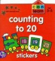 Counting to 20 - Stickers (Book):