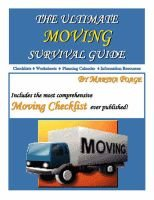 The Ultimate Moving Survival Guide (Spiral bound): Martha Poage