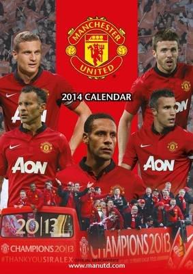 Official Manchester United 2014 Calendar (Calendar):