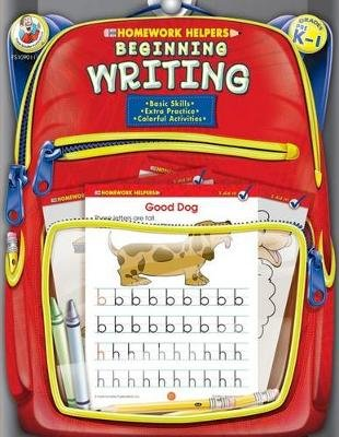 Beginning Writing, Homework Helpers, Grades PreK-1 (Paperback): Frank Schaffer Publications