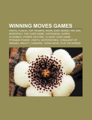 Winning Moves Games - Pente, Flinch, Top Trumps, Rook, Easy Money, Pay Day, Monopoly: The Card Game, Cartagena, Super Scrabble,...