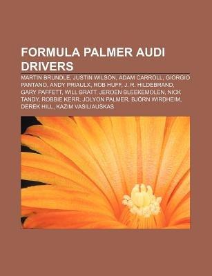 Formula Palmer Audi Drivers - Martin Brundle, Justin Wilson, Adam Carroll, Giorgio Pantano, Andy Priaulx, Rob Huff, J. R....