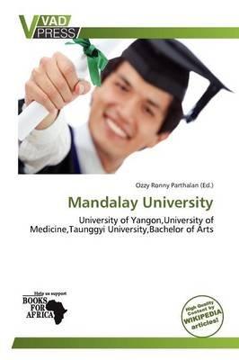 Mandalay University (Paperback): Ozzy Ronny Parthalan