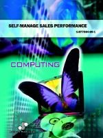 Self-Manage Sales Performance - Bsbsls306a (Paperback): Dennis Price, Moonyeen Price