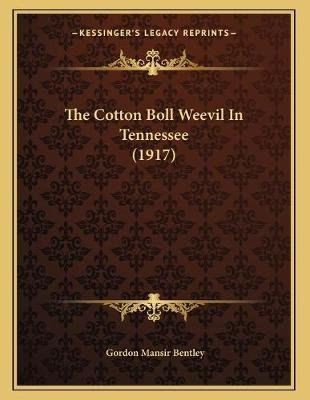 The Cotton Boll Weevil in Tennessee (1917) (Paperback): Gordon Mansir Bentley