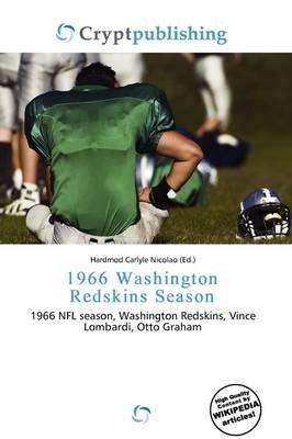 1966 Washington Redskins Season (Paperback): Hardmod Carlyle Nicolao