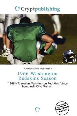 1966 Washington Redskins Season (Paperback): Hardmod Carlyle Nicolao