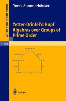 Yetter-Drinfel'd Hopf Algebras over Groups of Prime Order (Paperback, 2002 ed.): Yorck Sommerh auser