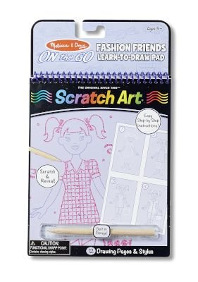 Melissa & Doug Fashion Friends Learn To Draw Pad: