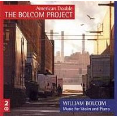 Various Artists - Music for Violin & Piano (CD): Bolcom William, Bolcom, American Double