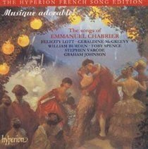 The Songs of Emmanuel Chabrier (CD): Emmanuel Chabrier, Various Artists