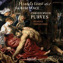 Various Artists - Handel's Finest Arias for Base Voice (CD): George Frideric Handel, Christopher  Purves, Jonathan Cohen,...