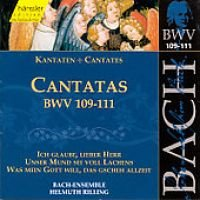 Edition Bachakademie Vol 35 - Cantatas BWV 109-111 / Rilling - Edition Bachakademie Vol 35 - Cantatas BWV 109-111 (Import)...