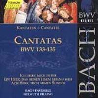 Edition Bachakademie Vol 42 - Cantatas BWV 133-135 / Rilling - Edition Bachakademie Vol 42 - Cantatas BWV 133-135 (CD): Edition...