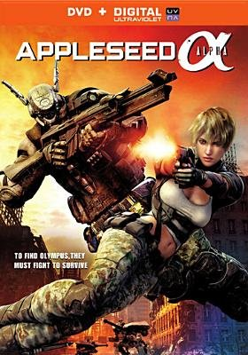 Appleseed-Alpha (Region 1 Import DVD):