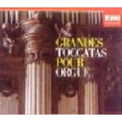 Various Artists - Great Toccatas For Organ (CD): Lionel Rogg, Jacob, Durufle, Rawsthorne, Preston, Others