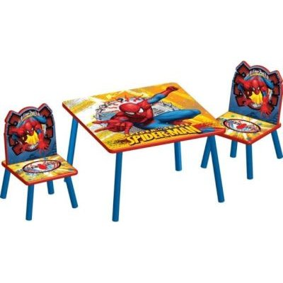 Marvel Spiderman Table & Chair Set: