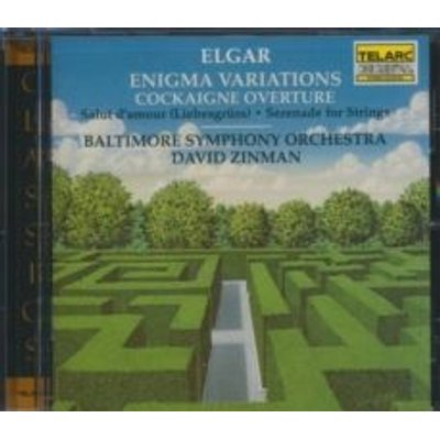 Elgar, Edward, Sir - Enigma Variations, Cockaigne Overture (Zinman, Baltimore So) (CD): E. Elgar