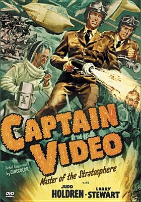 Captain Video-Cliffhanger Collection (Region 1 Import DVD): Holdren,Judd