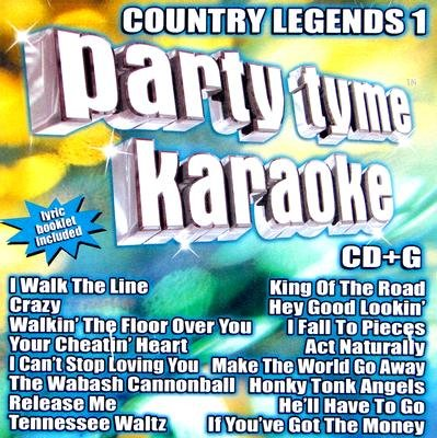 Party Tyme Karaoke - Country Legends CD (2001) (CD): Party Tyme Karaoke