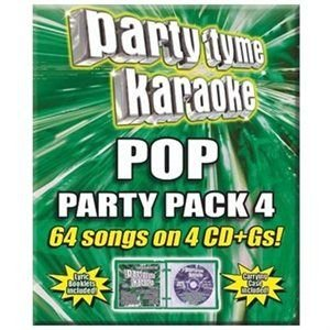 Party Tyme Karaoke:pop Party Pack 4 (CD): Party Tyme Karaoke