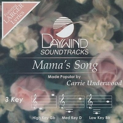 Carrie Underwood - Mama's Song (CD): Carrie Underwood