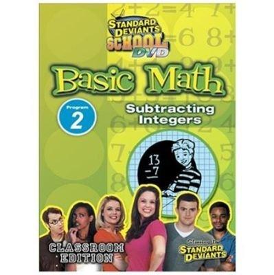 Basic Math 2:subtracting Integers (Region 1 Import DVD):