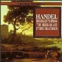 Various - Handel Messiah As Above Highlights (CD): Various