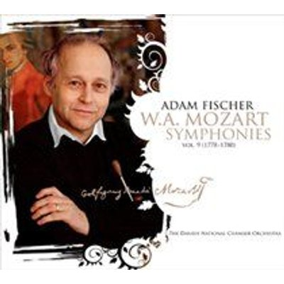Various Artists - W.A. Mozart: Symphonies (CD): Wolfgang Amadeus Mozart, Adam Fischer, The Danish National Chamber Orchestra