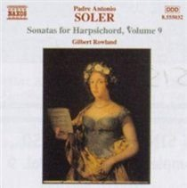 Sonatas for Harpsichord Volume 9 (Rowland) (CD): By: Gilbert Rowland
