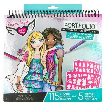 Fashion Angels Portfolio Fashion Design Sketch Set: