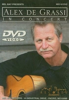 Alex de Grassi in Concert (DVD): Alex De Grassi