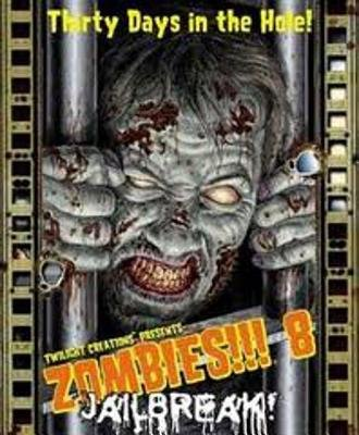 Zombies!!! 8 Jailbreak Card Game (Hardcover): Twilight Creations Inc
