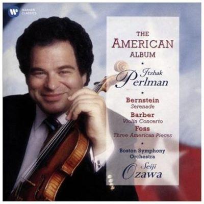 Various Artists - The American Album (CD): Leonard Bernstein, Samuel Barber, Lukas Foss, Itzhak Perlman, Seiji Ozawa, Boston...