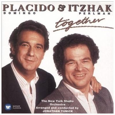 Various Artists - Placido Domingo & Itzhak Perlman: Together (CD): Placido Domingo, Itzhak Perlman, Enrico Toselli, Manuel...