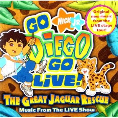 Go Diego Go Live the Great Jaguar Rescue (CD): Go Diego Go