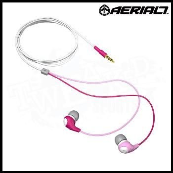 Aerial7 Bullet Tantrum In-Ear Headphones (Pink, Grey and White):