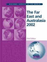The Far East and Australasia 2002 (Hardcover, 33rd New edition):