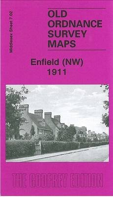 Enfield (NW) 1911 - Middlesex Sheet 07.02 (Sheet map, folded): Pamela Taylor
