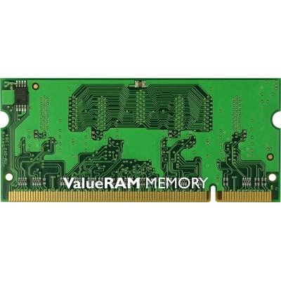 Kingston Technology ValueRAM 1GB DDR2 SODIMM Notebook Memory Module (800MHz)(1x1GB):