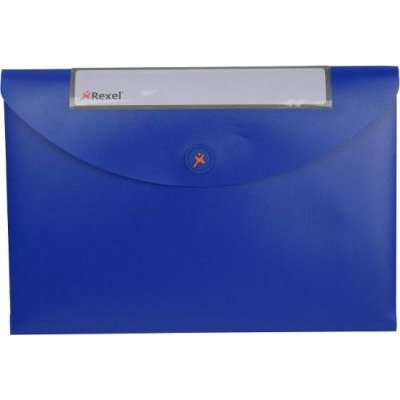 Rexel Optima Document Wallet (A4)(Blue):