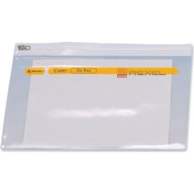 Rexel Zip Bag (A3)(Clear):