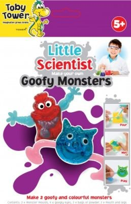 Toby Tower Little Scientist - Make Your Own (Goofy Monsters):