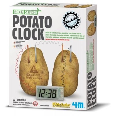 4M Green Science - Potato Clock: