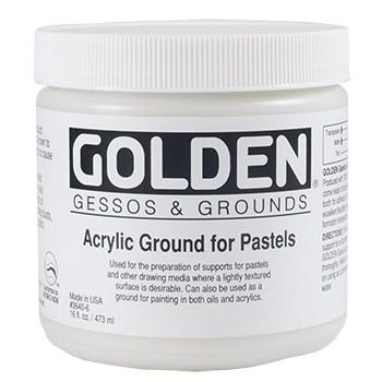 Golden Acrylic Medium - Acrylic Ground for Pastel (473ml):