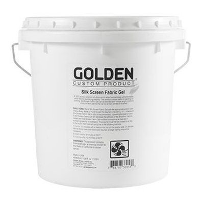 Golden Acrylic Medium - Silk Screen Fabric Gel (3.78 Litre):
